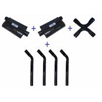 Kit Fullflow Silenautto V8 2,5 Abafadores + X-pipe + Tubos