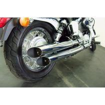 Escapamento Honda Shadow 600cc 2.5