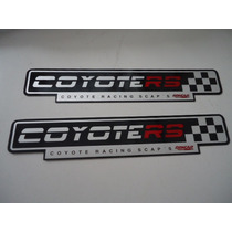 Adesivo, Etiqueta, Chapa Para Escapamento Coyote Rs