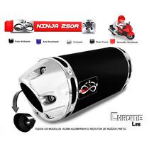Escapamento Esportivo Infinity Moto Kawasaki Ninja 250r 250