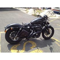 Escape Harley Hd883 E 1200 Cc Curto Curvo 2.1/2 Polegadas