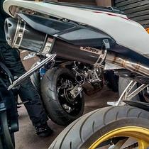 Escapamento Ponteira Honda Cbr600rr Cbr600 Rr Propipe Carbon