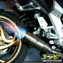Escape Ponteira Firetong Flame Inox Zx-6r Ninja 636 Kawasaki