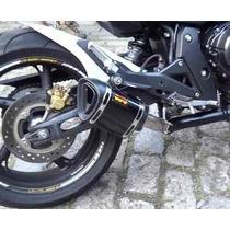 Escap Ponteira Esportiva Wr 13cm Aluminio Honda Hornet Cb600