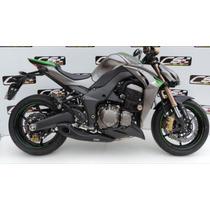 Escapamento Cs Racing Full Kawasaki Z1000 2014 2015