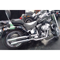 Ponteira Harley Softail Fatboy 3 1/4 Reto Customer Cromada