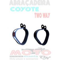 Cinta Abraçadeira Preto/polido Pra Coyote Trs Two Way Menor