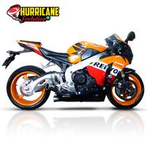 Ponteira Hurricane Escapamento Esportivo Cbr 1000rr