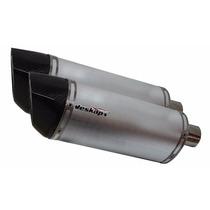 Par De Ponteira Jeskap Three Carbon Alumínio 4,5