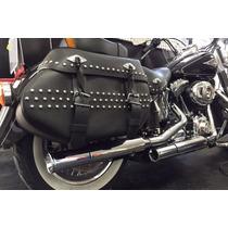Ponteira Harley Softail Heritage 3 1/4 Reto Customer Cromado
