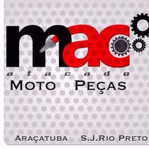 Escapamento Pop 100 09 Preto Fortuna - Mac Atacado Rp