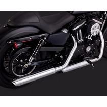 Ponteira Vance&hines Twin Slash Sportster Harley 883/1200