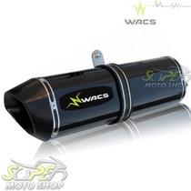 Escape / Ponteira Wacs Modelo W1p Alumínio - Gs 500 - Suzuki