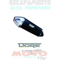 Escapamento Fazer 250 Dore Yamaha Todas Cores Alt Desempenho