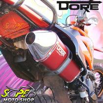 Escape Ponteira Dore Curva Vermelho Lander 250 ..08 S/ Sonda