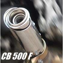 Escapamento Esportivo Ponteira Cb500f Cb500x Cb500r