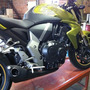 Escape Ponteira Firetong Willy Made Em Inox Cb 1000 R Honda