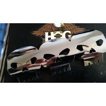 Acessóri Protetor De Ponteira Escapamento Harley Moto Custon