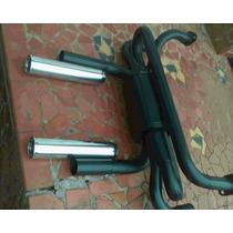 Ponteiras Cromadas Mod. Puma P/ Fusca & Clássicos ,( O Par )