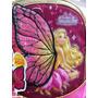 Mochila Barbie Butterfly Carrinho - Sestini