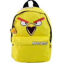 Mochila Angry Birds G Juvenil - Pronta Entrega