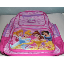 Mochila Infantil Princesas Da Disney
