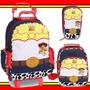 Kit Mochilete Lancheira Estojo Toy Story Jessie Garota Woody