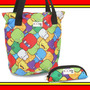 Kit Bolsa Tote E Estojo Toonix Color Dermiwil