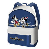 Mochila Minnie E Mickey Disney 100% Importada E Original