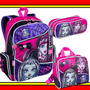 Kit Mochila Lancheira Estojo Monster High 15z Sestini Top