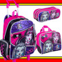 Kit Mochilete Lancheira Estojo Monster High 15z Sestini Top