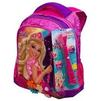 Mochila Costas Média Barbie E O Portal Secreto Rosa Sestini