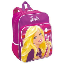Mochila Costas Grande Barbie 15m Plus Sestini