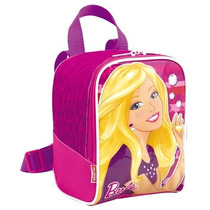 Lancheira Escolar Infantil Barbie 15m Plus Sestini
