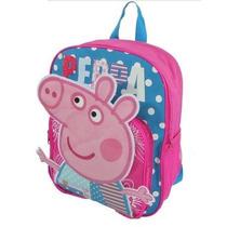 Mochila Escolar Infantil George E Peppa Pig - Pronta Entrega