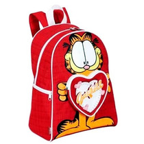 Mochila Escolar Infantil Garfield & Odie