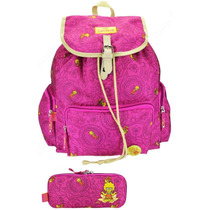 Mochila Costas Lisa Simpsons Summer Of Love + Estojo Duplo
