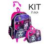 Kit Mochilete + Lancheira Monster High