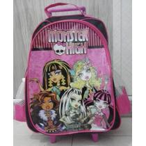 Mochila Escolar Monster High- Envio Imediato