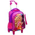 Mochila Infantil C/ Rodinhas G Barbie E O Portal Secreto