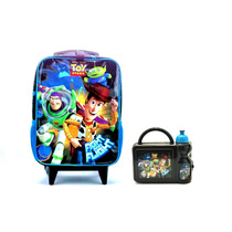 Mochila C/ Rodas Toy Story + Lancheira - Kit Disney Dermiwil