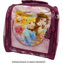 Lancheira Térmica Infantil Princesas