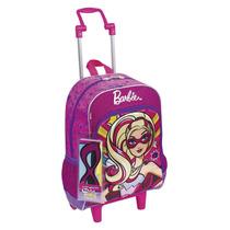 Mochilete Grande Barbie Super Princesa Com Máscara - 64010