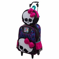 Kit Mochila Monster High ( G ) + Lancheira