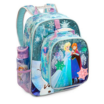 Mochila E Merendeira Frozen Modelo 2015 Original Disneystore
