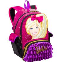 Mochila Grande Barbie Bolsinha Love Infantil Original