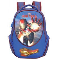 Mochila Iron Man 3 ( G ) - Homem De Ferro - Costas