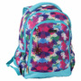 Mochila Feminina Planet Girl Flowers Juvenil De Costas G.