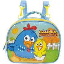 Lancheira Galinha Pintadinha Escolar C/ Acessórios - 3694