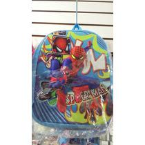 Mochilinhas Escolar 3d Com Alto Relevo Frozen Homem Aranha